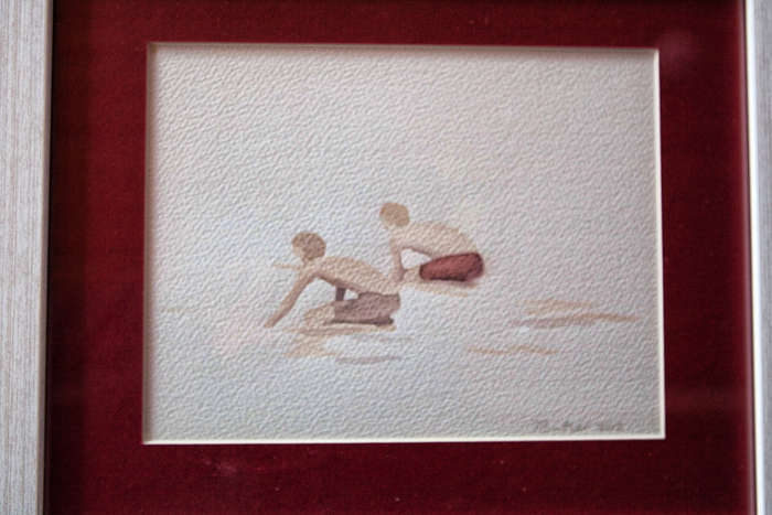 Neil Butler watercolour