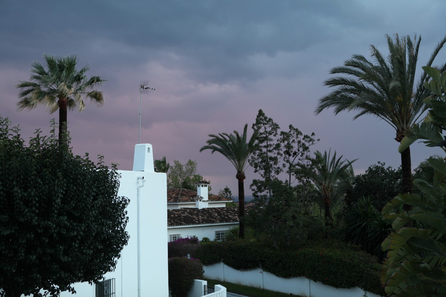 Andalucia storm