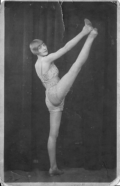 dancer bluebell 1928