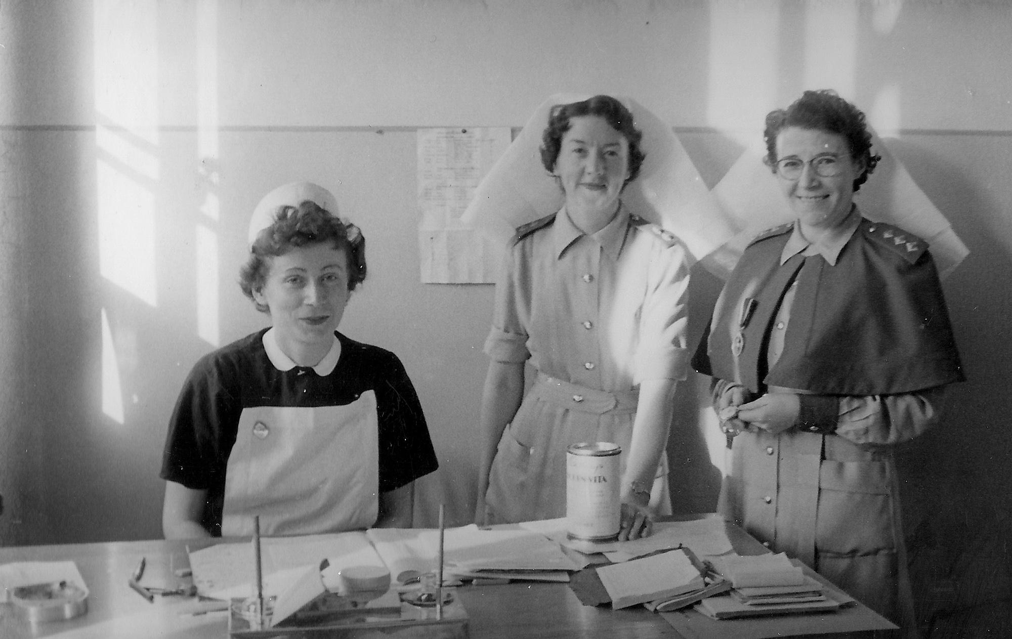 nurses war malta